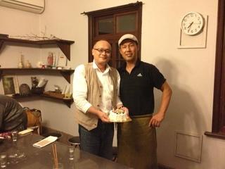 さとけんさんとケーキ.JPG