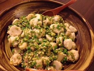 里芋とオクラ.JPG